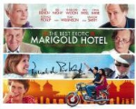 Celia Imrie & Ronald Pickup The Best Exotic Marigold Hotel, Genuine Signed Autograph, 3582